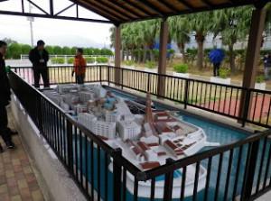 端島の模型